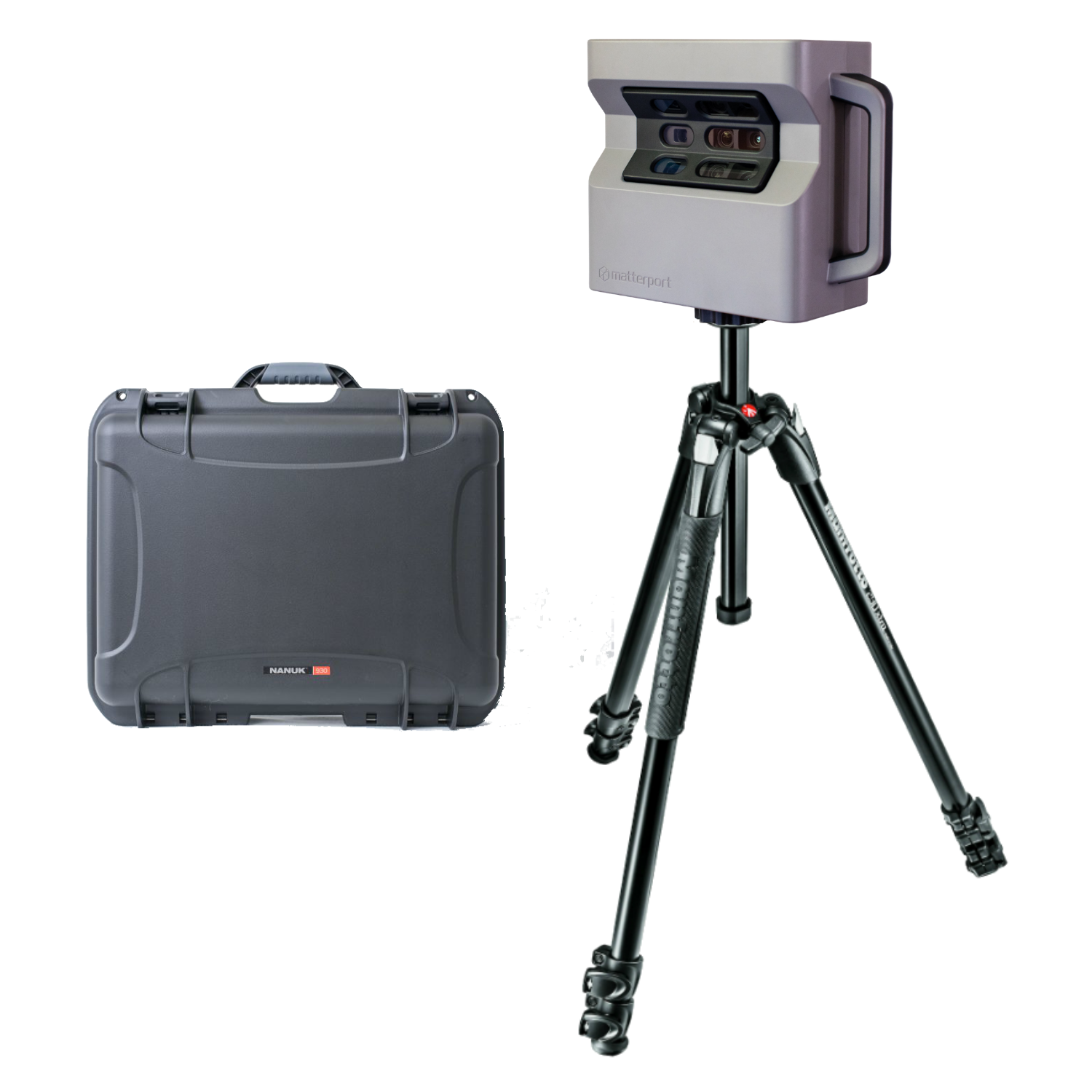 Matterport Pro2 3D Lite Camera + Nanuk Hard Case + Tripod with Quick Release